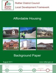 Affordable Housing background paper - Rother District Council