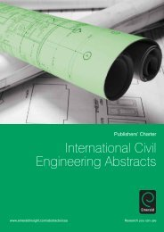 International Civil Engineering Abstracts