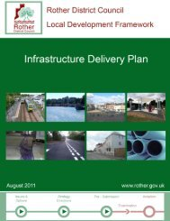 Infrastructure Delivery Plan (IDP) - Rother District Council