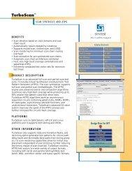 (2) SynTest TScan v4..