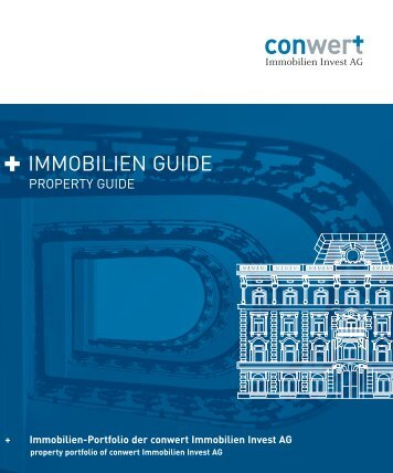 IMMOBILIEN GUIDE - conwert Immobilien Invest SE