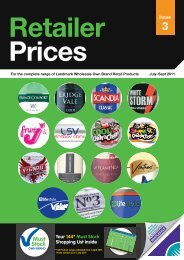 Retailer Prices • Great Value Everyday - BA Cash & Carry