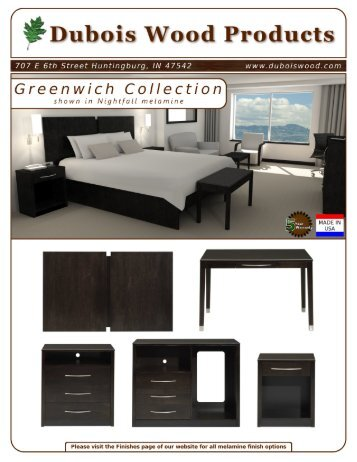 Greenwich Brochure - Dubois Wood Products