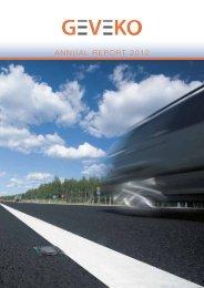 Annual Report 2012 (pdf) - Geveko