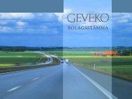 2004 - Geveko
