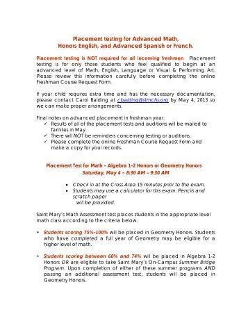 english placement test sample pdf