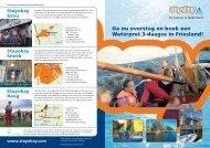Ga nu overstag en boek een Waterpret 3-daagse in Friesland!