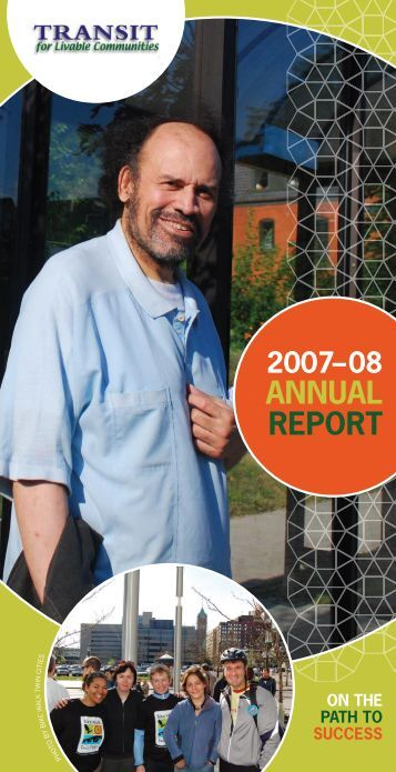 AnnuAl RepoRt - Transit for Livable Communities