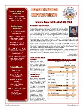DISTRITO ESCOLAR UNIFICADO RIALTO - Axiomadvisors.net