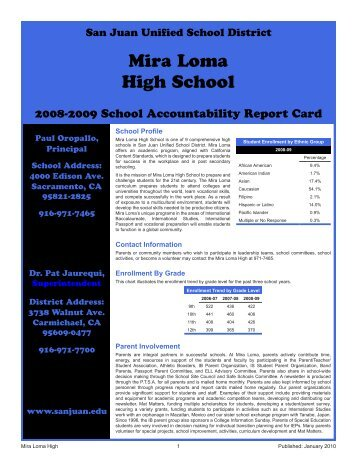 mira loma single guys Mira loma high is an award-winning international baccalaureate (ib) school that offers a positive learning setting and high academic expectations in sacramento.