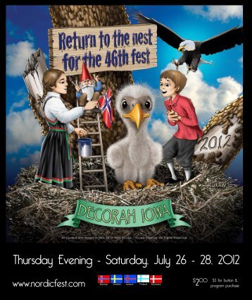 Thursday Evening - Saturday, July 26 - 28, 2012 - Nordic Fest