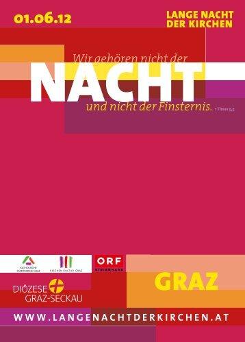 katholische stadtkirche graz kirchen kultur graz - Lange Nacht der ...