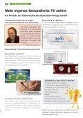 Apothekenmarketing & Media Gesundheits TV Programm Magazin - Seite 2
