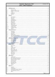 JTCC Tekniskt reglemente - STCC