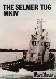selmer tug mk iv - Scandia Shipping