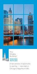 download retail brochure - Wrigley Building