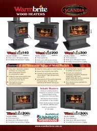 WOOD HEATERS - Scandia Stoves & Spares