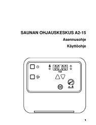 SAUNAN OHJAUSKESKUS A2-15 - SAWO