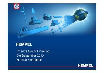 HEMPEL - Incentra