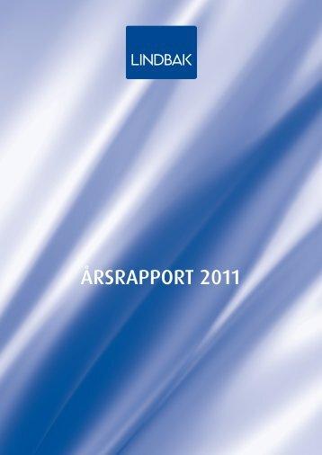 Årsrapport LindbakGruppen 2011
