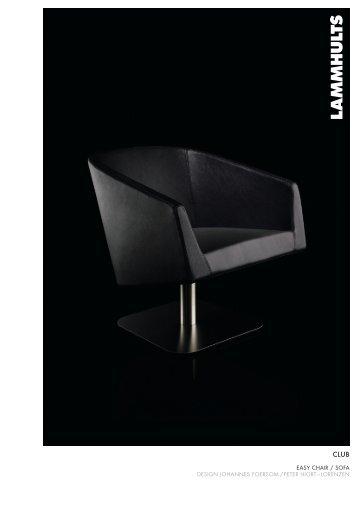 easy chair / sofa design johannes foersom / peter hiort ... - Lindbak