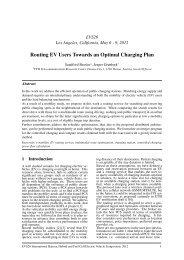 Routing EV Users Towards an Optimal Charging Plan