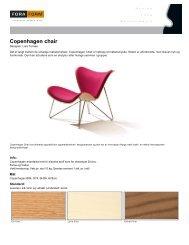 Copenhagen chair - Lindbak