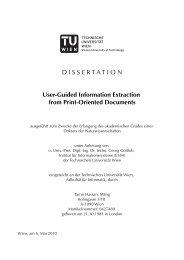 Dissertation - DBAI - Technische Universität Wien