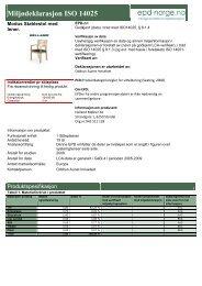 Helland Modus stol - Lindbak