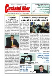 Nr. 1158/08 - 15 martie 2012 - Cuvantul Liber Giurgiu