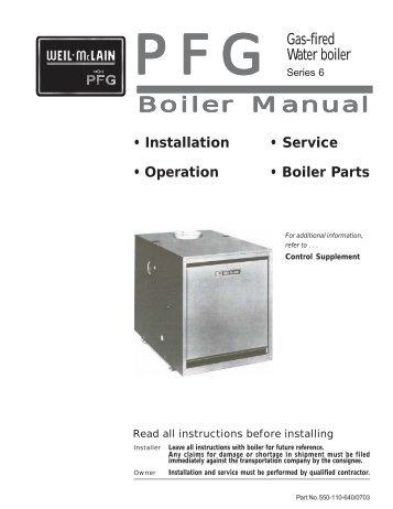 riello 40 series gas burner manual