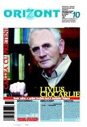 CARTEA CU PRIETENICARTEA CU ... - Revista Orizont
