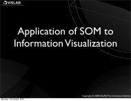 ViSLAB - School of Information Technologies - The University of ...