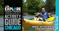 The North Face Explore Your Parks Activity Guide Chicago.
