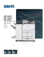 MP 6002/ MP 7502/ MP 9002