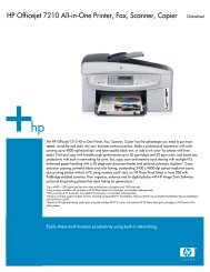 HP Officejet 7210 All-in-One Printer, Fax