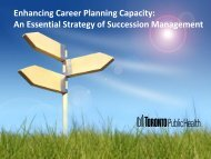 An Essential Strategy of Succession Management