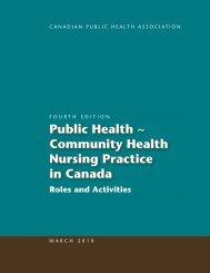 Community Health Nursing Practice in Canada - Canadian Public ...
