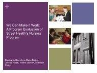 Stephanie Gee - Community Health Nurses Canada