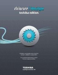 Download Software Info Sheet - Toshiba
