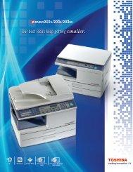 Download Spec Sheet - Toshiba