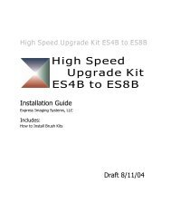 High Speed Upgrade Kit ES4B to ES8B - Express Imaging Systems
