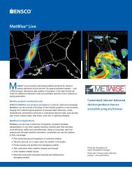 MetWise® Live – Customized browser-based weather decision ...