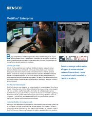 MetWise® Enterprise – The Choice of Professional Meteorologists ...