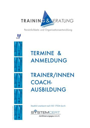 ausbildung - Training & Beratung