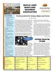 Maple Lawn Newsletter NOV-10 (Comp).pub - Bozzuto Maple Lawn