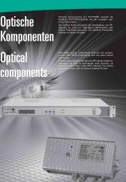 Optische Komponenten Optical components - Tekno Group