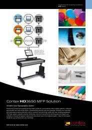 Contex HD3650MFP - C & B Blueprint, Inc.