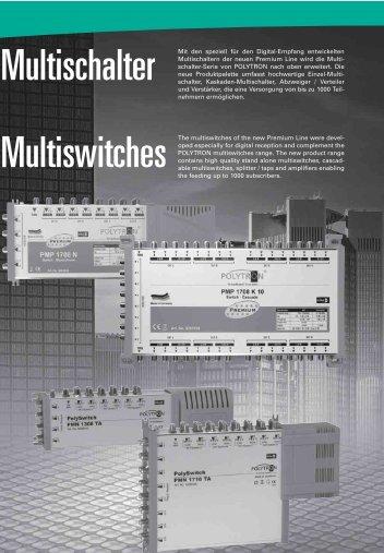 Multischalter Multiswitches - Tekno Group