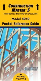 Pocket Reference Guide